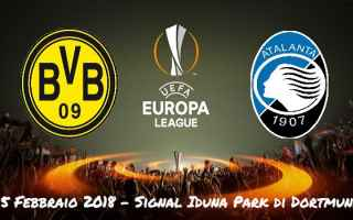 Europa League: atalanta  borussia d.  europa league