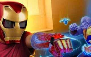 Gadget: videogame  realtà aumentata  iron man