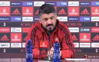 Serie A: milan  gattuso  cutrone