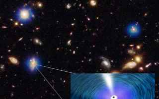 Astronomia: buchi neri supermassicci  galassie