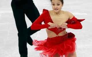 Sport Invernali: pattinaggio artistico  hot