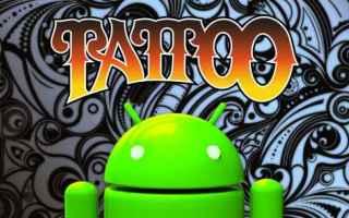 tatuaggi tattoo android disegni