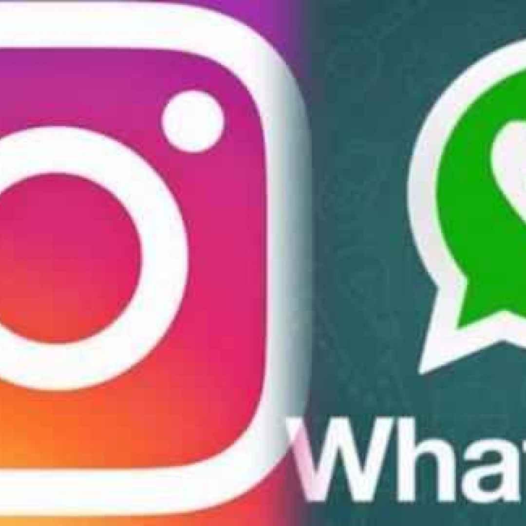 whatsapp  instagram  aggiornamenti