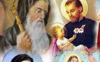 Religione: calendario  santi oggi  beati
