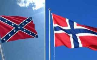 dal Mondo: bandiera  seattle  norvegia  sudista
