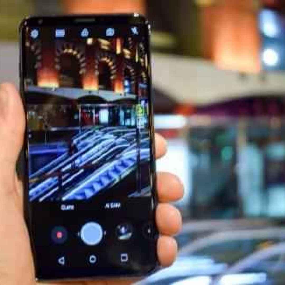lg  smartphone  mwc 2018