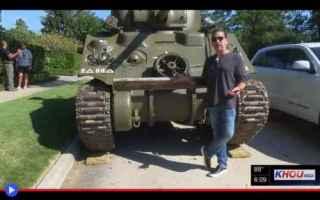 dal Mondo: stati uniti  carri armati  armi  texas