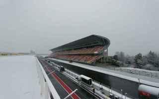 Formula 1: formula 1  test  neve  ferrari