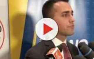Politica: m5s  di maio  elezioni politiche