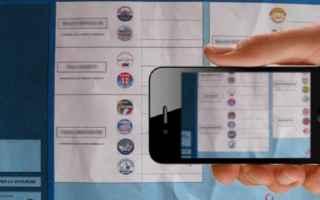 Politica: voto  cabina  fotografia  reato