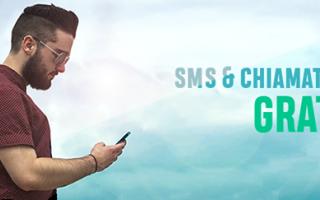 Siti Web: sms  chiamate  gratis
