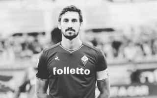Serie A: malagò  davide astori  fiorentina