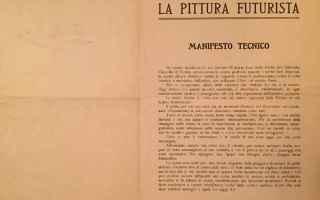 tdl18  futurismo  libri antichi