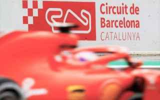 Formula 1: formula 1  test  barcellona  ferraei