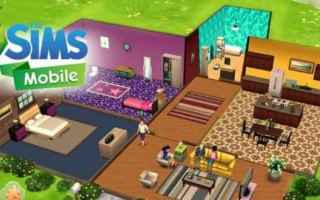 Mobile games: the sims  videogame