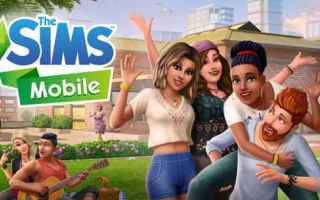 Mobile games: sims the sims android iphone