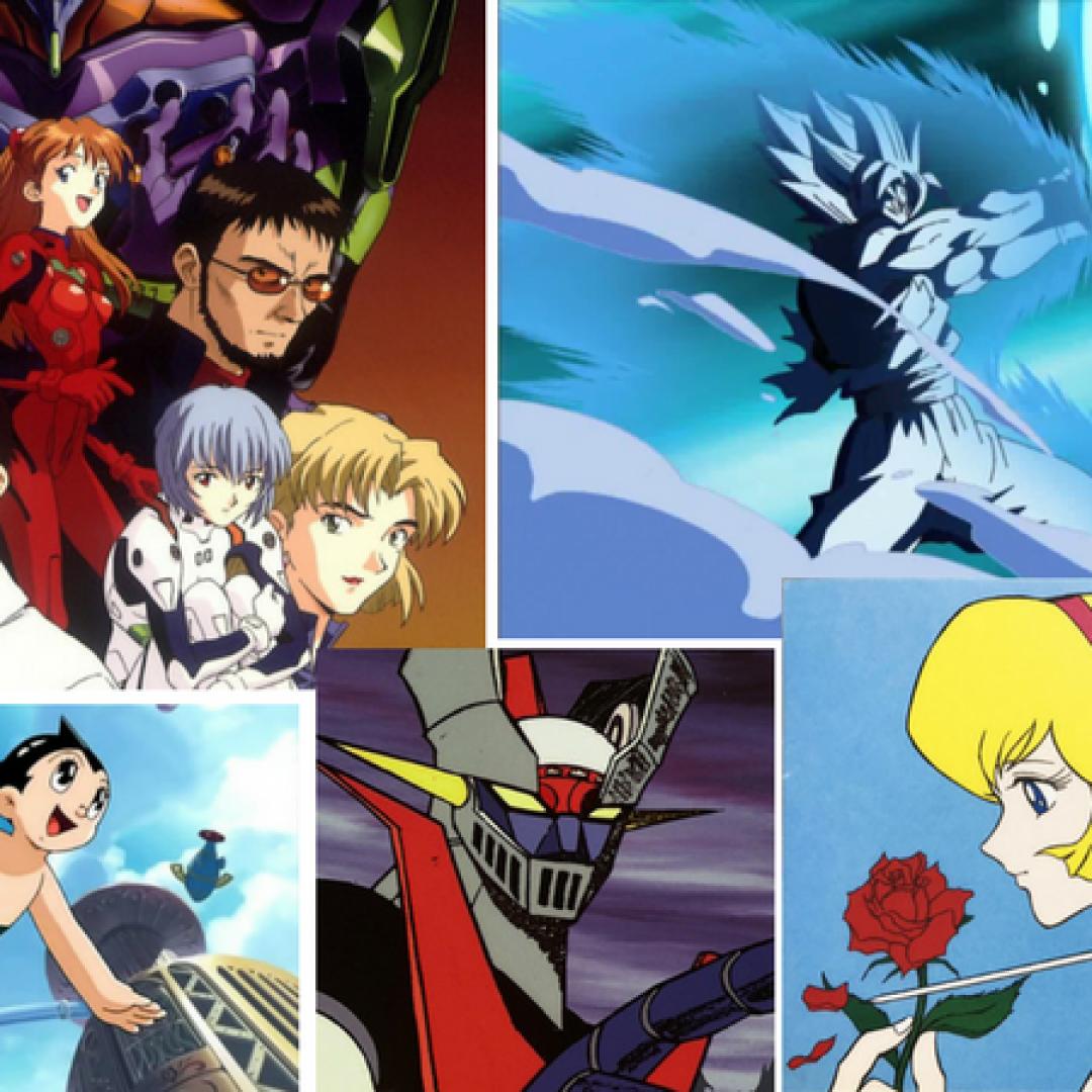 anime  animazione giapponese  cartoni  astro boy mazinga z  gundam  captain tsubasa  holly e benji  dragon ball  pokémon