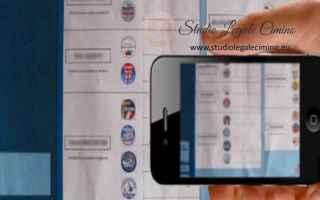 Politica: smartphone  telefonino  avvocato cimino