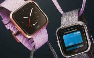 Gadget: fitbit  smartwatch