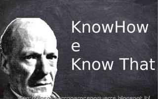 Cultura: gilbert ryle  sapere come  conoscenza