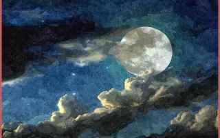 Cultura: luna  nnamorati  poesia  sera