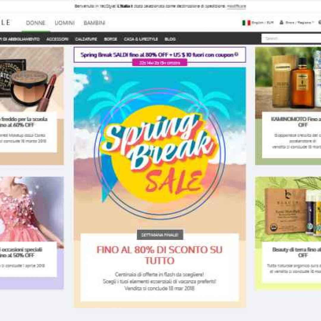 cina  siti  e-commerce