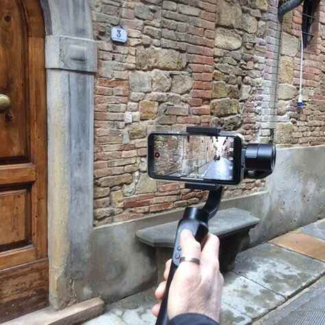 video  cellulare  gimbal