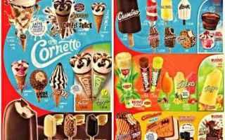 Gastronomia: gelati  algida  dolci  estate
