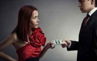 Amore e Coppia: separazione moglie lavoro mantenimento