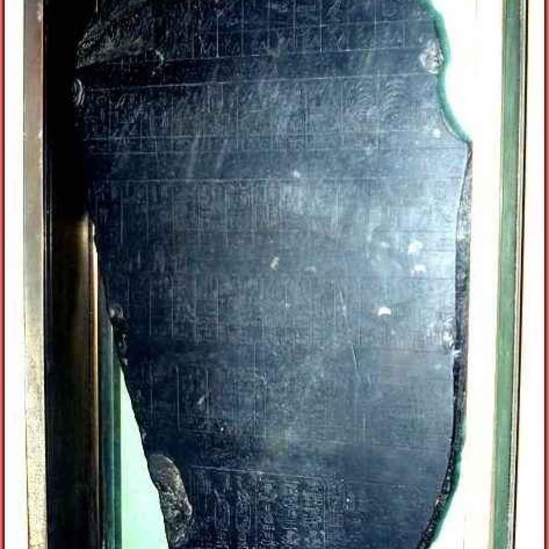 archeologia  pietra di palermo