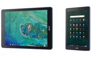 Tablet: acer  tablet  chromeos