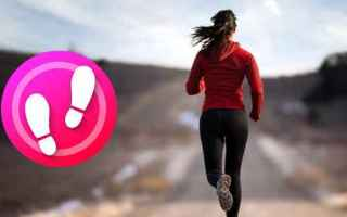 Fitness: contapassi  sport  android  calorie