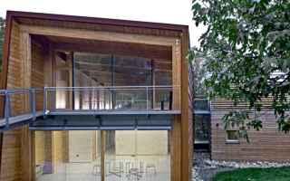 Architettura: benessere  leggero  materiali  riciclabi