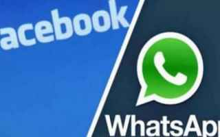WhatsApp: messaggistica  whatsapp  facebook