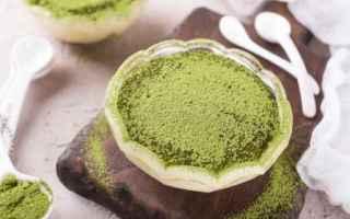 Alimentazione: macha  verde  salute