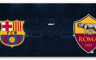 Champions League: barcellona  roma