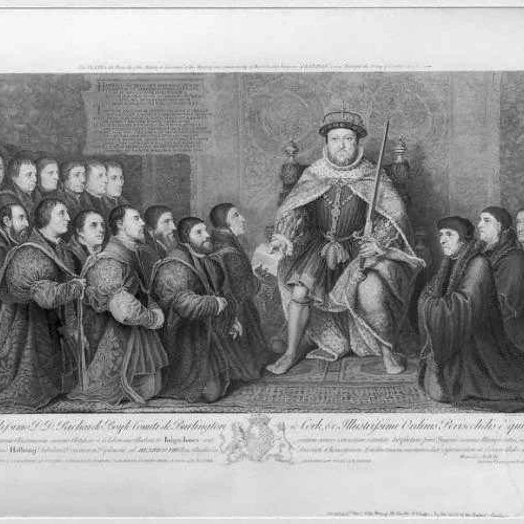 parlamento  storia  enrico viii