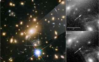 Astronomia: stelle  materia oscura
