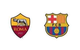 Champions League: roma  barcellona  championsleague