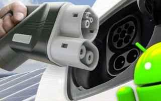 App: auto elettrica  auto ev  stazioni  android