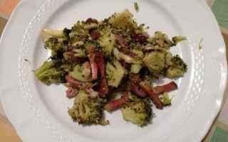 ricetta  broccoli  speck  olive