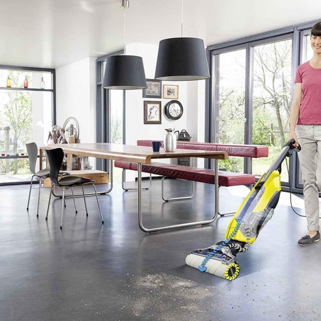 Pulire casa in pochi minuti con un unico elettrodimestico