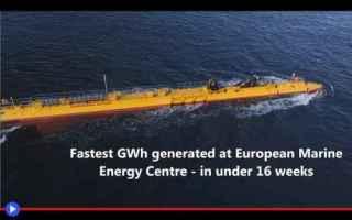 Tecnologie: energia  turbine  correnti  mare  oceano