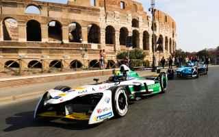 Motori: formula e  roma  gare  sostenibilità