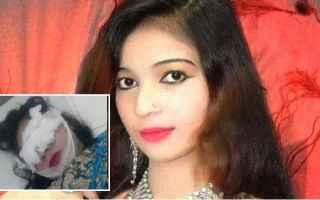 Un fatto fuori da ogni comune senso avvenuto in Pakistan, dove la cantante incinta Samina Sindhu si
