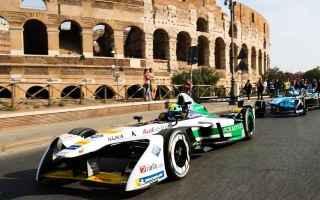 Motori: formula e  auto  roma  gara