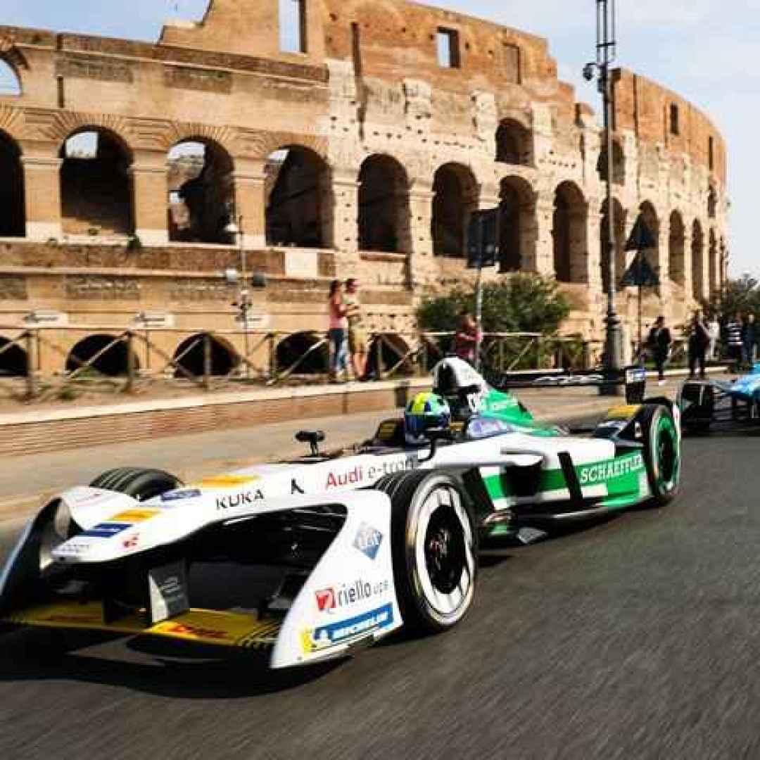 formula e  auto  roma  gara