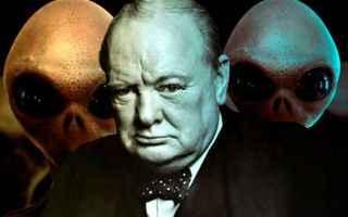 Storia: alieni  churchill  extraterrestri