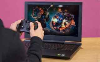 PC games: gaming notebook  windows