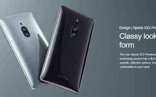 Cellulari: sony xperia xz2 premium  android  tech